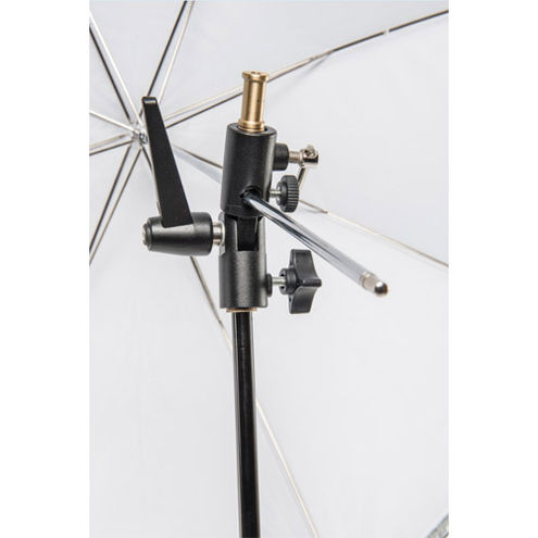 Umbrella Holder with Cold Shoe with Clamp Lock