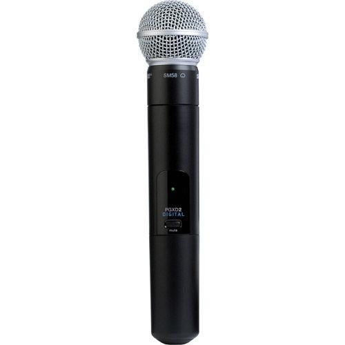 PGXD2/SM58-X8 Handheld Transmitter w/ SM58 Microphone