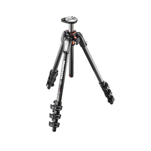 MT190CXPRO4 Carbon Fibre Tripod 4 Section
