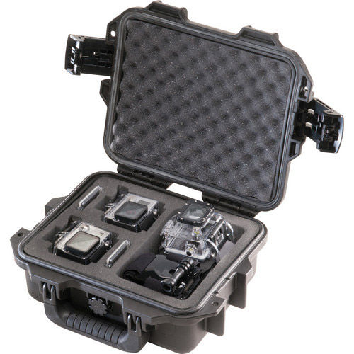 Pelican Storm Protector-GoPro with GoPro inserts holds 2 GoPro cameras and accessories