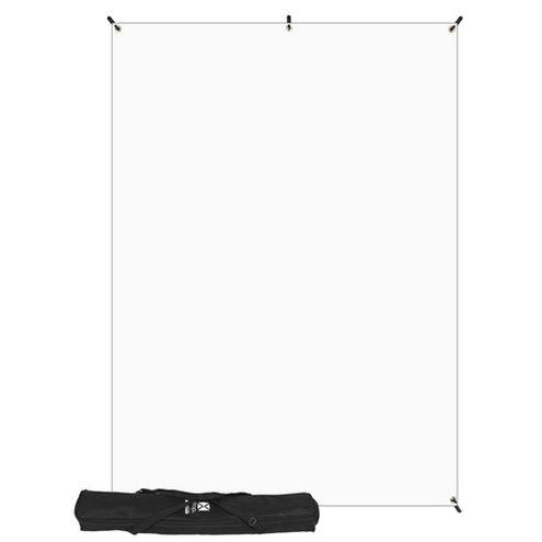 X-Drop Kit with 5' x 7' White Backdrop