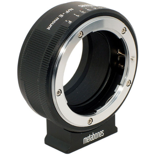 Nikon G Lens to Sony NEX Camera Lens Mount Adapter (Matte Black)