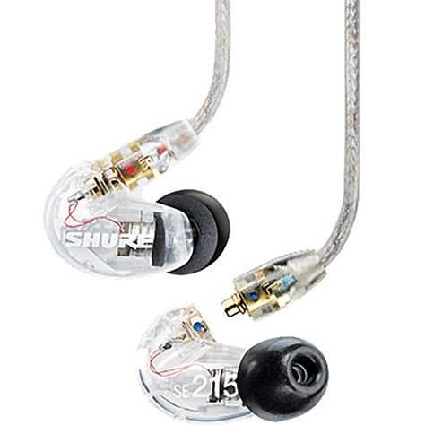 SE215CL Sound Isolating Earphones - Clear Body
