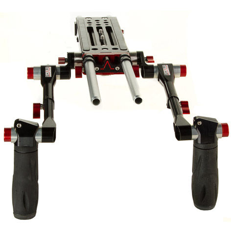 BP8000 V-Lock Quick Release Baseplate with Handles (includes Panasonic SHAN TM700)
