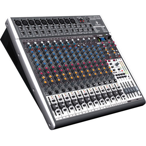 X2442USB Premium 24-Input 4/2-Bus Mixer with Multi-FX Processor