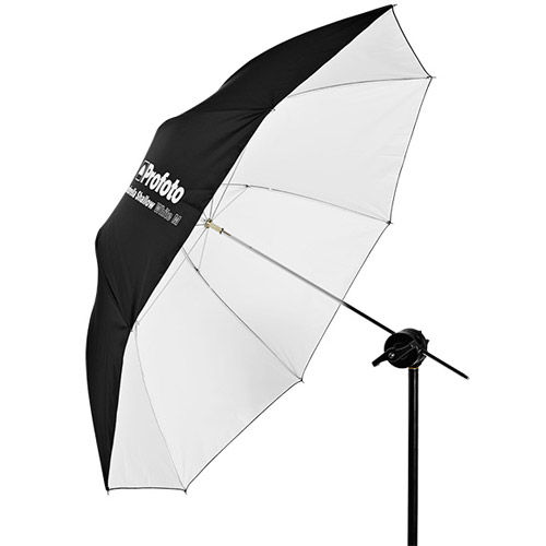 Umbrella Shallow White M 105cm