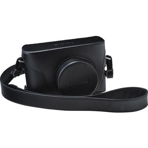 X100 Series Black Leather Case