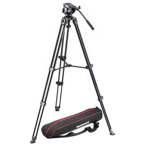 MVH500A Video Head With MVT502AM Tripod and Carry Bag