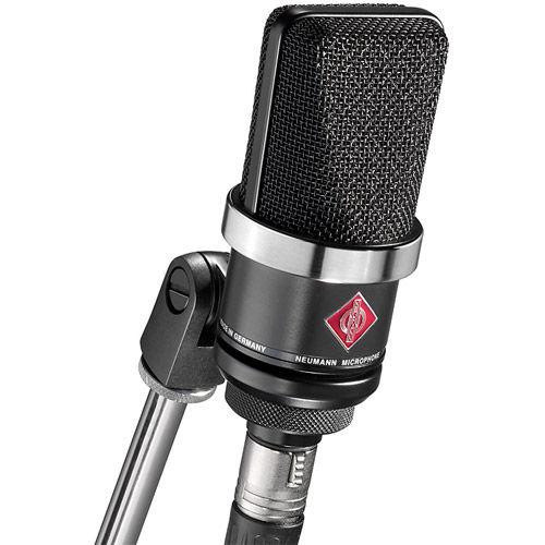TLM102 Large-Diaphragm Studio Condenser Microphone - Black