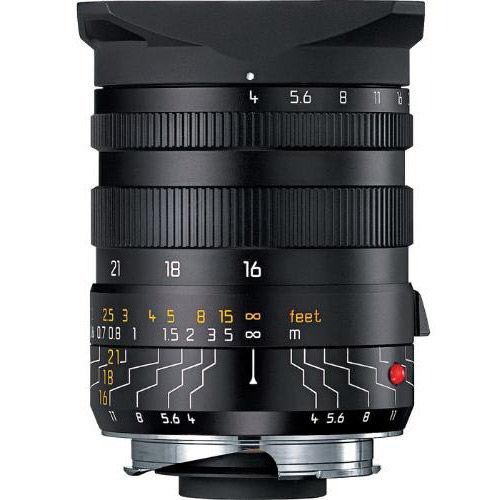 16-18-21mm f/4.0 ASPH Tri-Elmar-M Black Lens