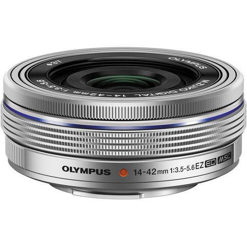 M.Zuiko ED 14-42mm f/3.5-5.6 EZ Silver Lens