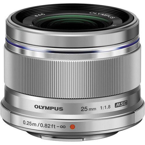 M.Zuiko 25mm f/1.8 Silver Lens