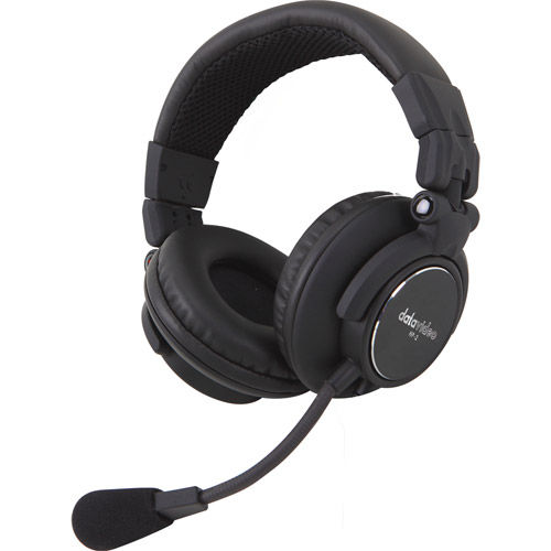 """Optional dual-ear headset w/ mic for the ITC-100 belt packs and base station, one 1/8"""" connector"""
