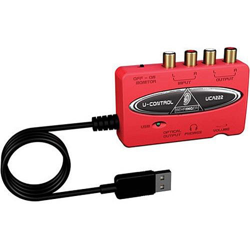 Ultra-Low Latency 2 In/2 Out USB Audio Interface w/ Digital Output