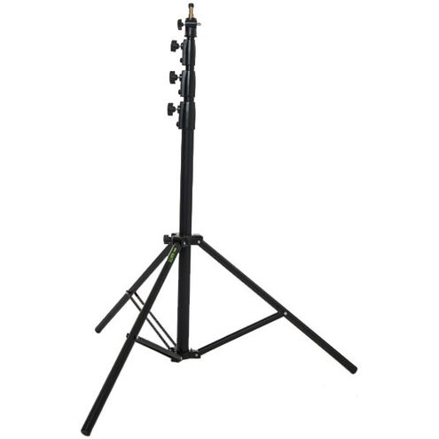 Medium 4 Section HD 2.9 m Air Cushion Light Stand Black