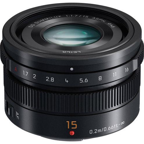 Leica DG Summilux 15mm f/1.7 ASPH Lens
