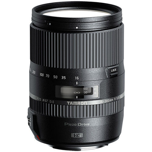16-300mm f/3.5-6.3 Di II VC PZD Lens for Nikon
