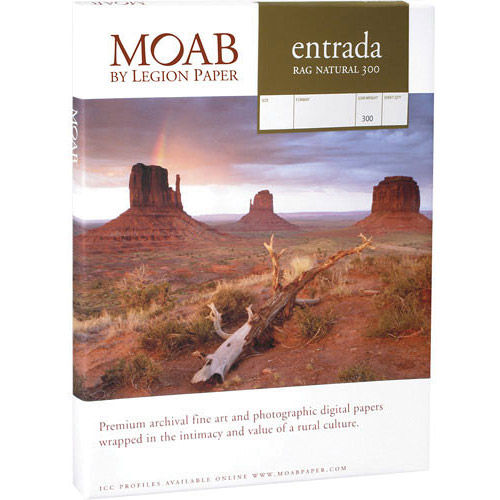 """13""""x19"""" Entrada 300gsm Natural 2 Sided Fine Art Paper - 100"""