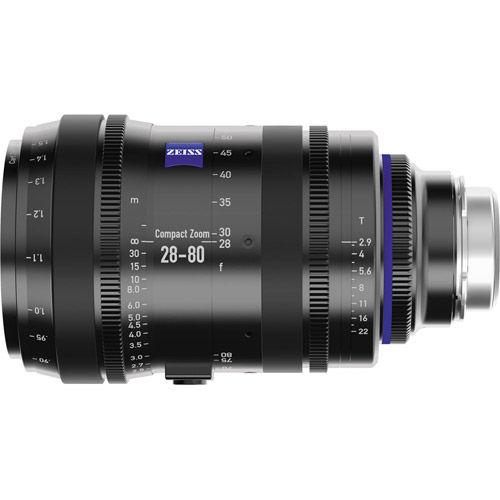 CZ.2 28-80/T2.9 T* EF Mid Cine Zoom (feet)