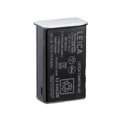 BP-DC 13 Lithium-Ion Battery, Silver for TL Body