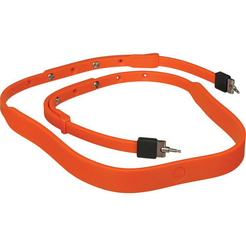 Neck Strap, Silicon,Orange-Red