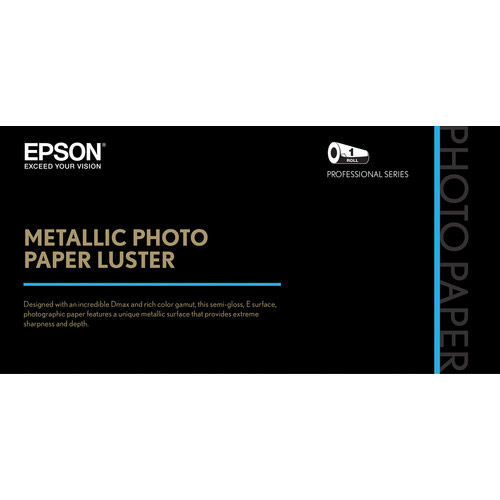 "24"" x100' Metallic Photo Paper Luster"