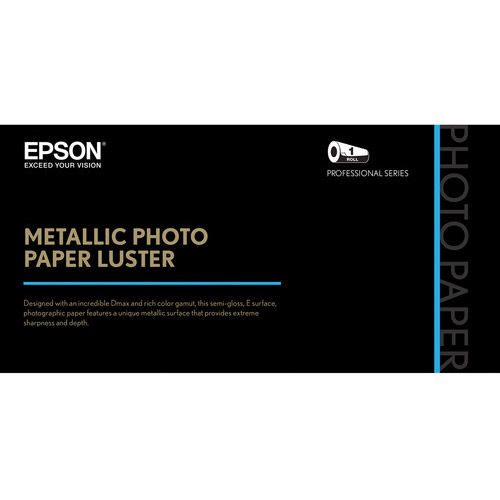 "44"" x 100' Metallic Photo Paper Luster"