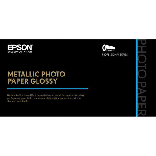 """36"""" x 100'  Metallic Photo Paper Glossy"""
