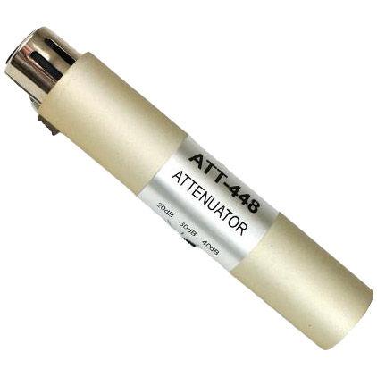 Input Attenuator XLR (F) to XLR (M)