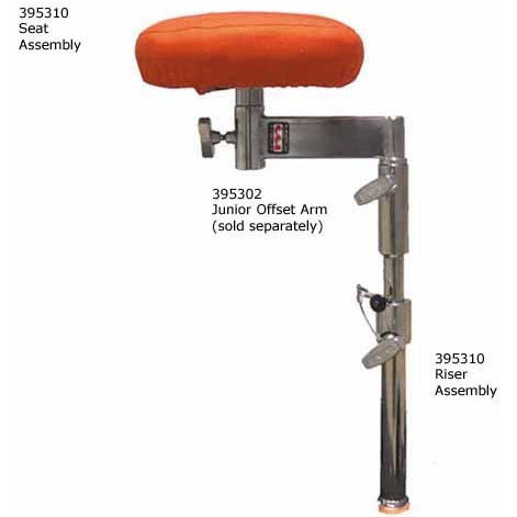 Seat and Riser Assembly