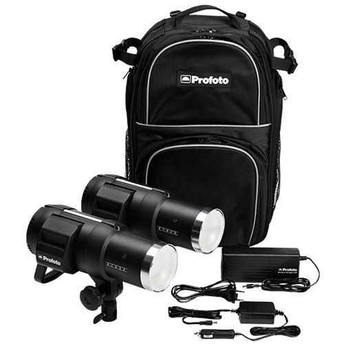 B1 500 AirTTL Location Kit w/2xB1 Heads, Battery, Charger & BackPack