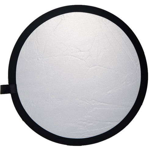 80 cm Double Stitched  Reflector - Silver/White