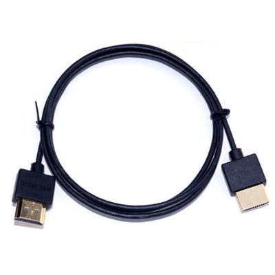 3 ft. Ultra-Slim HDMI v1.4 Cable with Ethernet - Platinum