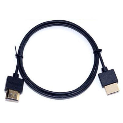 6 ft. Ultra-Slim HDMI v1.4 Cable with Ethernet - Platinum