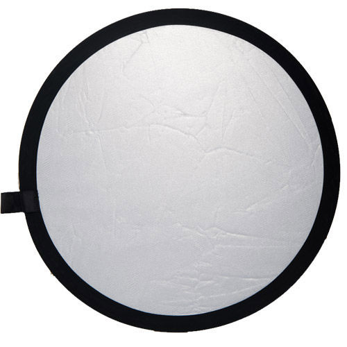 107 cm Double Stitched Reflector - Silver/White