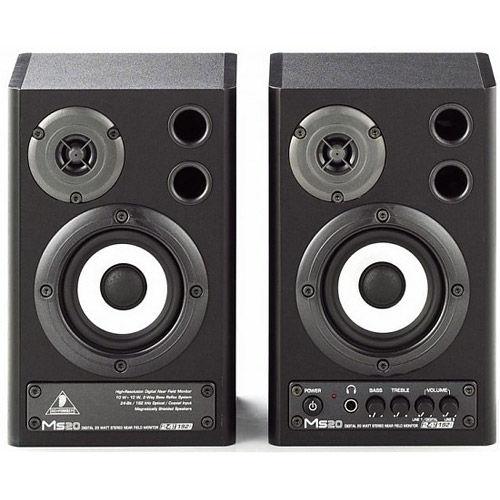 MS20 2-Way Active Studio Digital Monitor Speakers