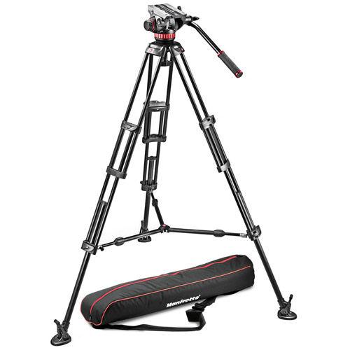 MVK502BK1 Video Kit Includes 546B Tripod, MVH502A Head, and Padded Bag