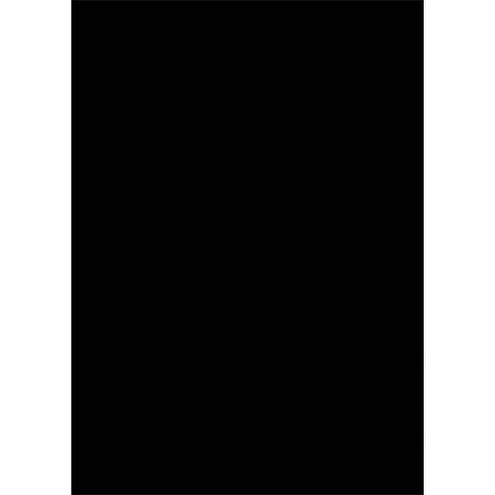 X-Drop Black Backdrop 5' x 7'