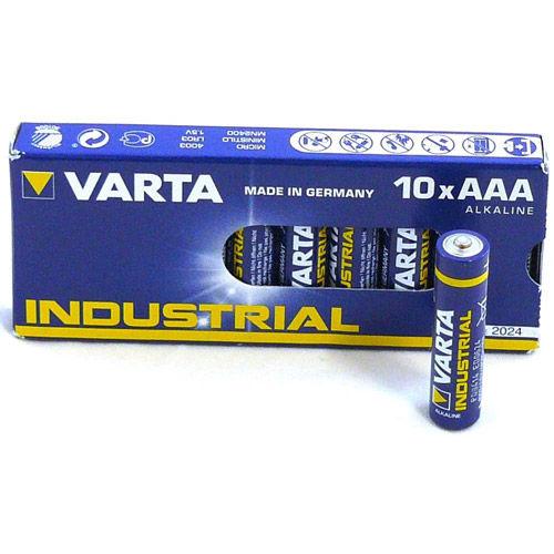 AAA Alkaline 1.5V 10 Pack Varta