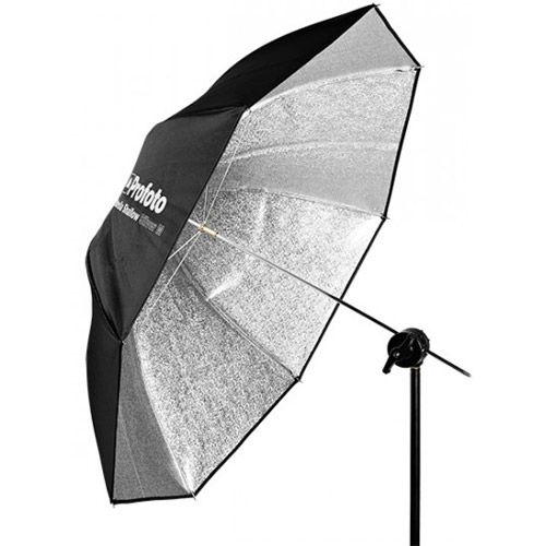 "Silver Umbrella Shallow M (105cm/41"")"