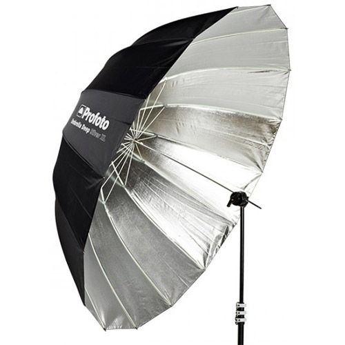 Umbrella Deep Silver XL,165 cm 65""