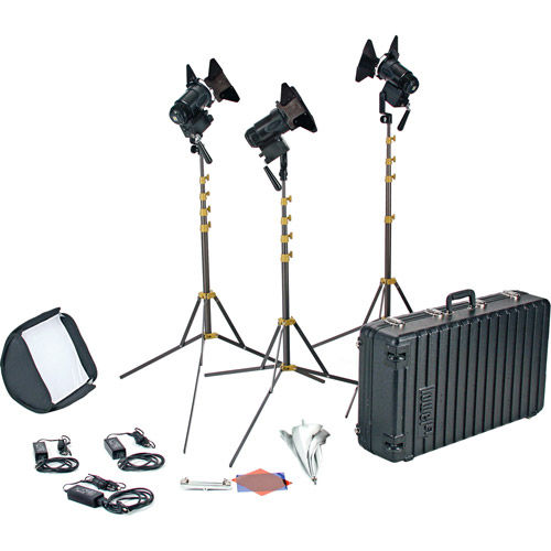 Pro LED 3 Light AC Kit Daylight Color Kit