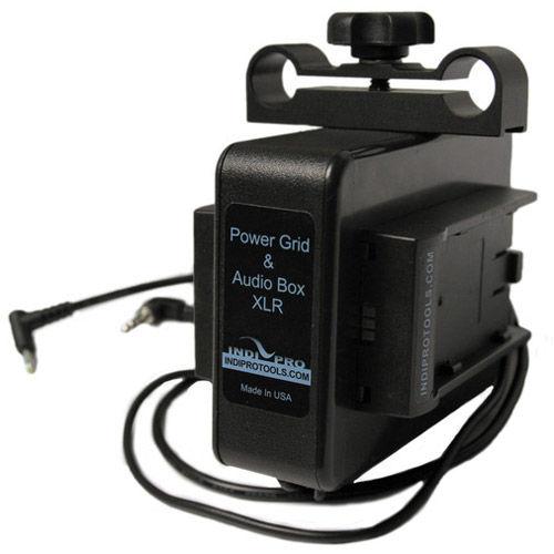 Blackmagic Pocket Camera Audio Power Plate, 2x L-Type