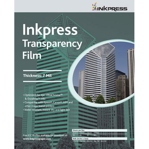 """11"""" x 17"""" Transparency Film 7mil 500 Sheets"""