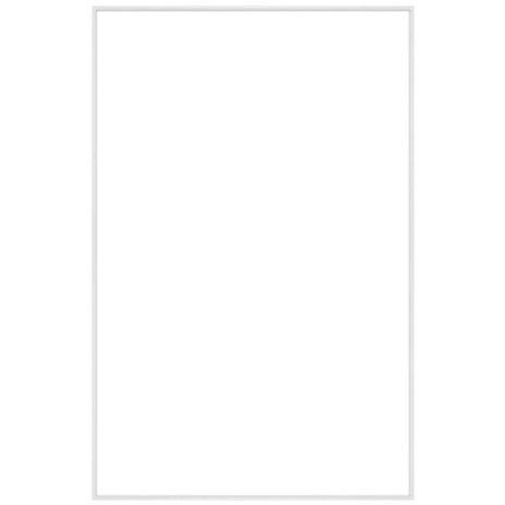"""11"""" x 17"""" Fineline White Aluminum Frame - No Matte"""
