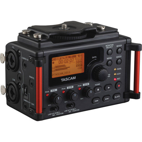 DR-60DMKII 4-Channel Portable Recorder for DSLR