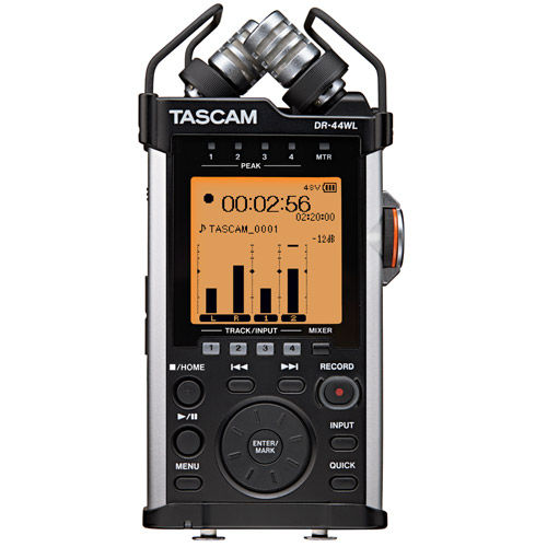 DR-44WL Portable Recorder with WiFi