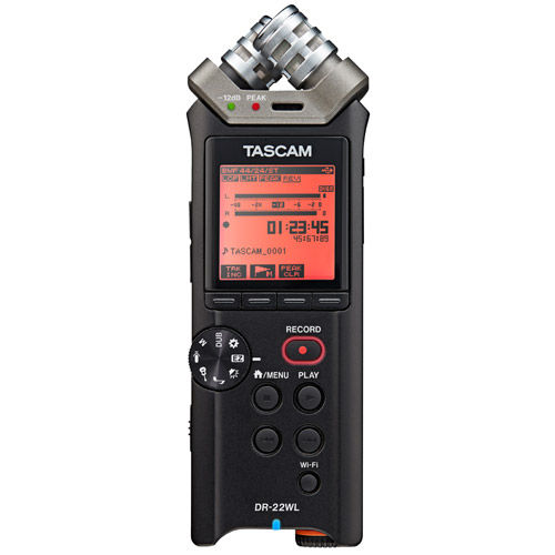 DR-22WL Portable Recorder with WiFi