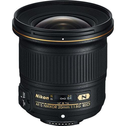AF-S NIKKOR 20mm f/1.8 G ED Lens