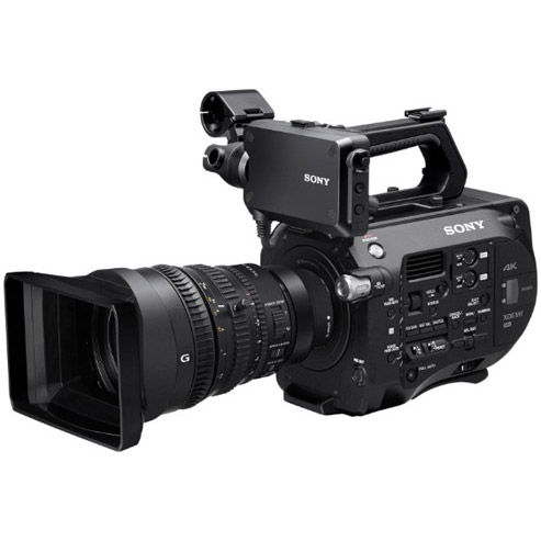 Rent Sony PXW-FS7 4K XDCAM camcorder HiDef Camcorders Prosumer Canada